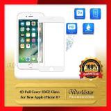 Jual New Apple Iphone 8 Plus Tempered Glass Anti Gores Kaca 4D Full Screen Edge Hitam Di Bawah Harga