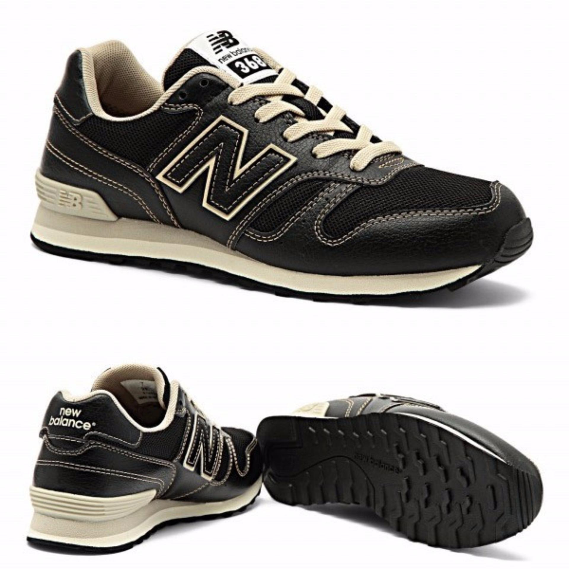 Beli New Balance 368 Sneakers Black W368Jbk Kredit