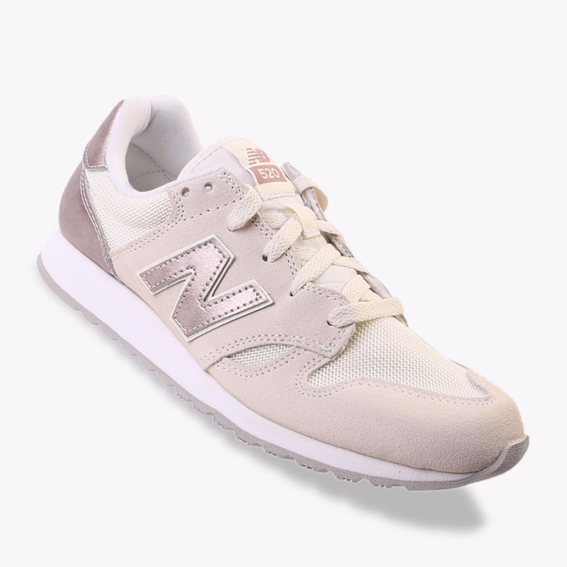 Harga New Balance 520 Women S Lifestyle Shoes Cream Branded