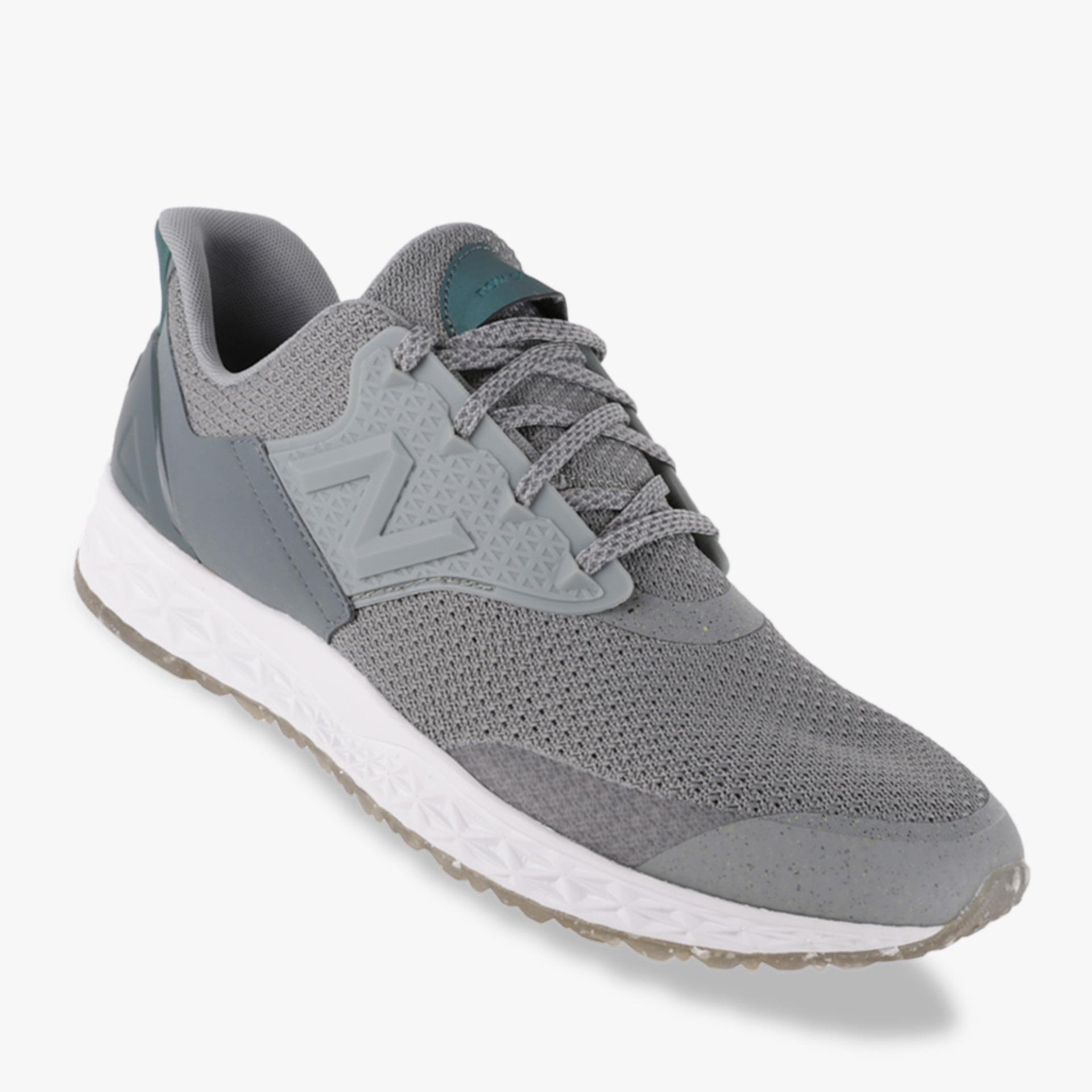 New Balance Fresh Foam 100 Men's Lifestyle Shoes - Abu-abu