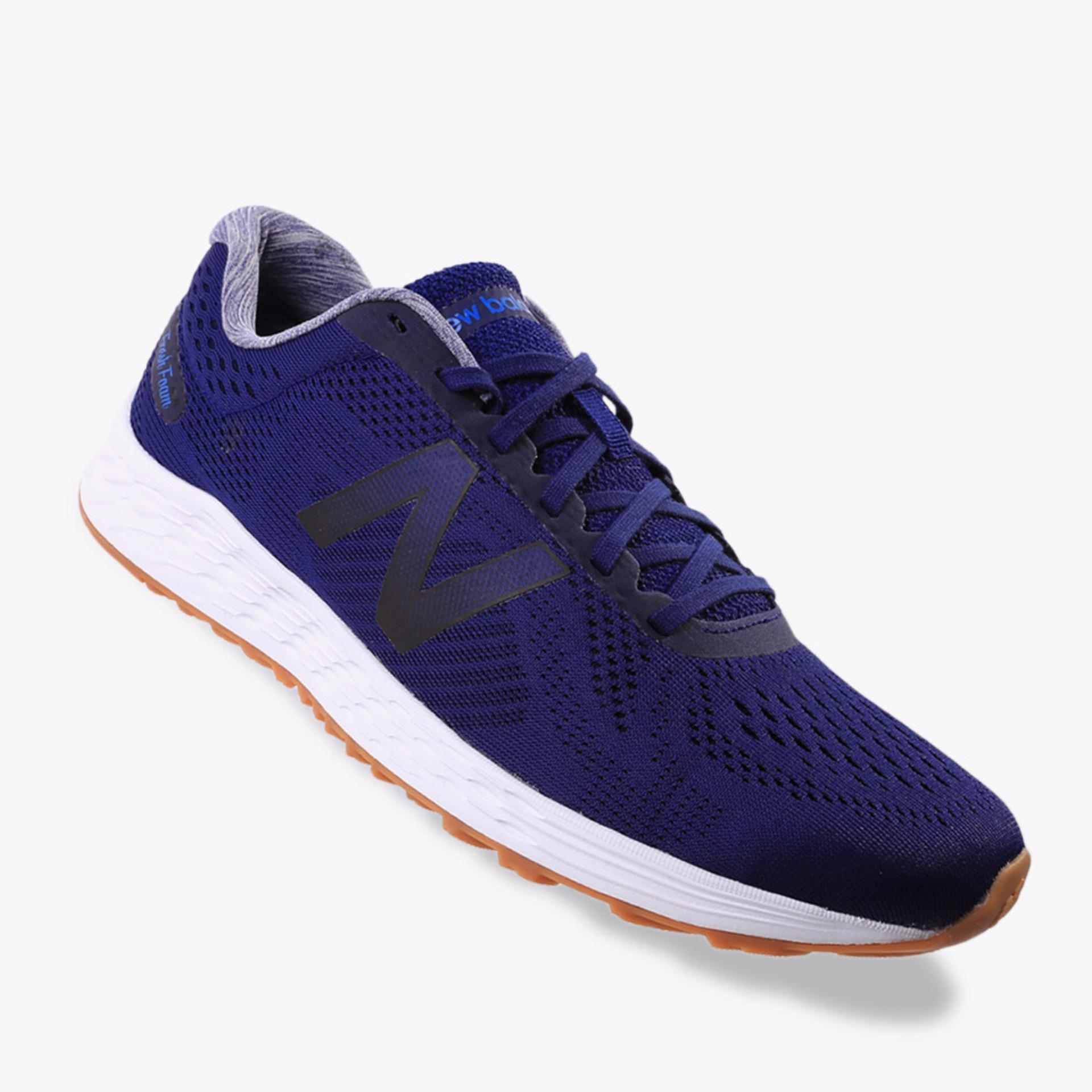 Jual New Balance Fresh Foam Arishi Men S Running Shoes Navy Online Di Indonesia