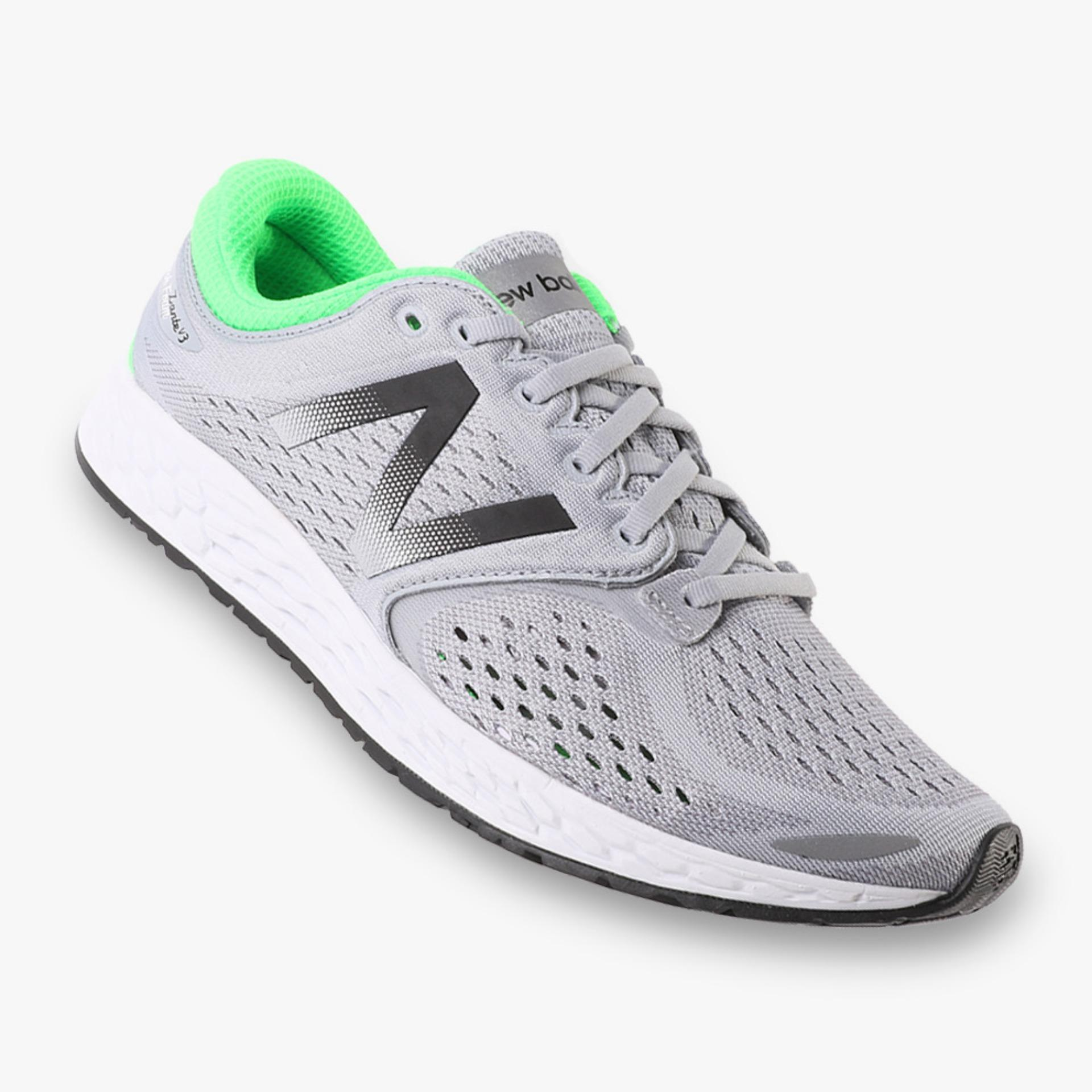 Review New Balance Fresh Foam Zante Breathe Pack Men S Running Shoes Abu Abu New Balance Di Indonesia