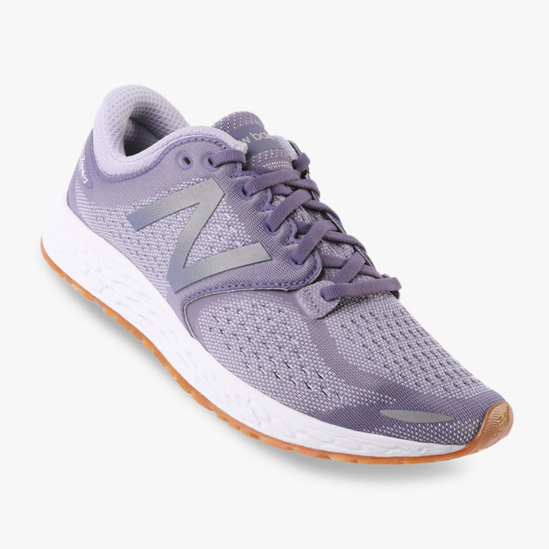 Review New Balance Fresh Foam Zante Breathe Pack Women S Running Shoes Ungu New Balance