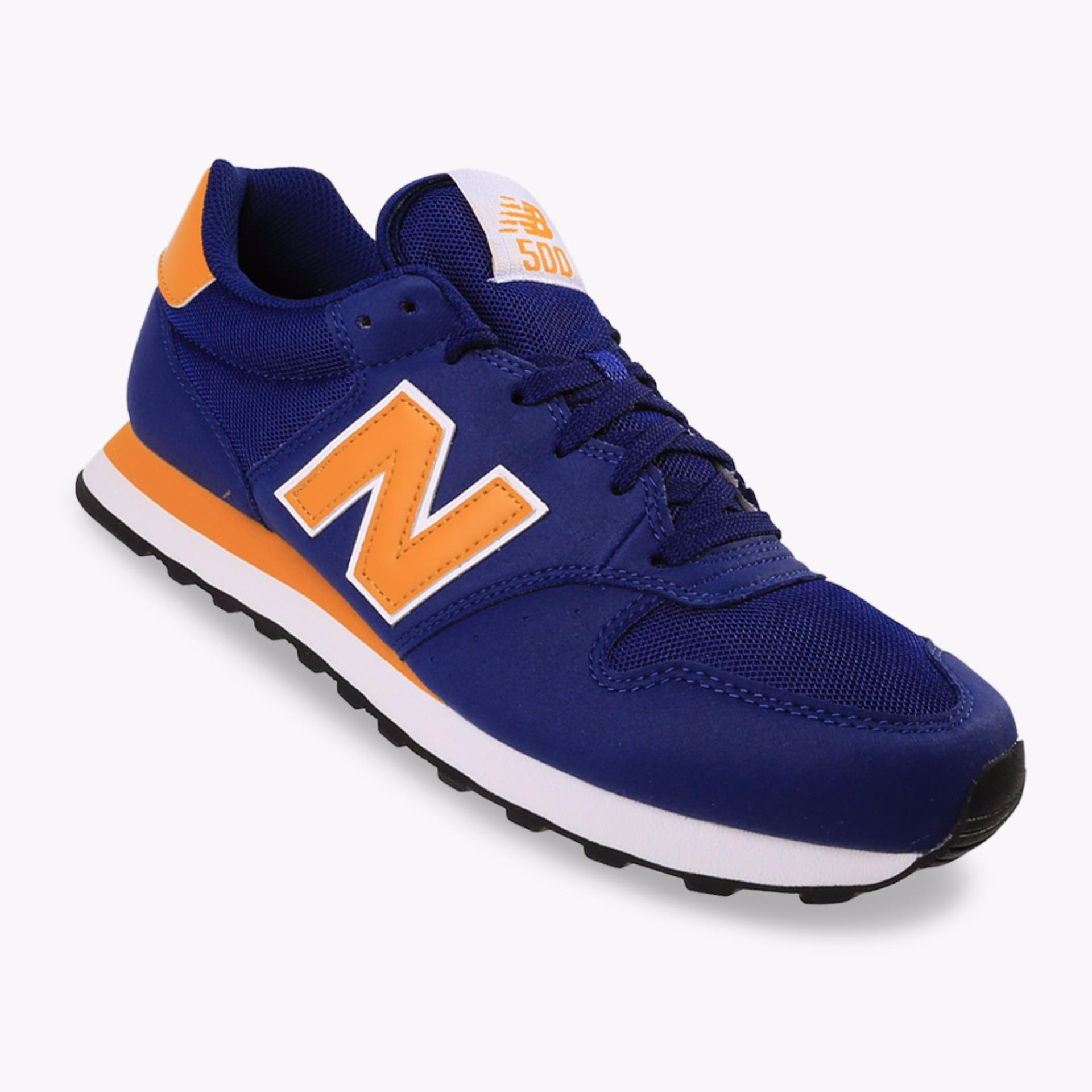 Jual New Balance Gm500 Men S Lifestyle Shoes Biru Lengkap