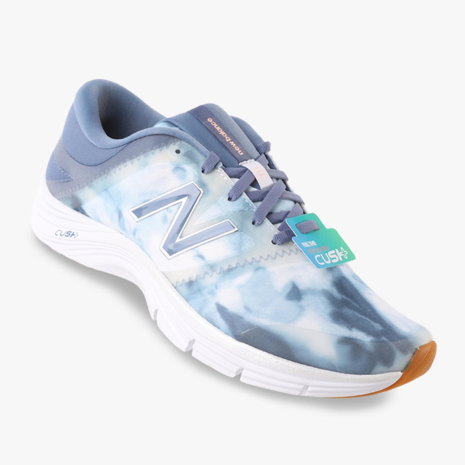 Spesifikasi New Balance Graphic Pack Women S Training Shoes Biru Merk New Balance