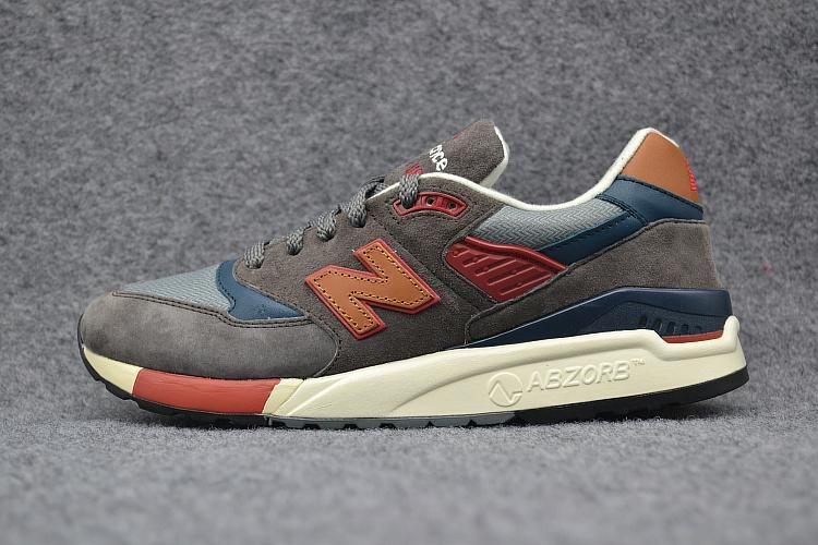 New Balance M998Dbr Unisex Sneakers Men And Women Running Shoes Brown Blue Red Eu 36 44 Intl Promo Beli 1 Gratis 1