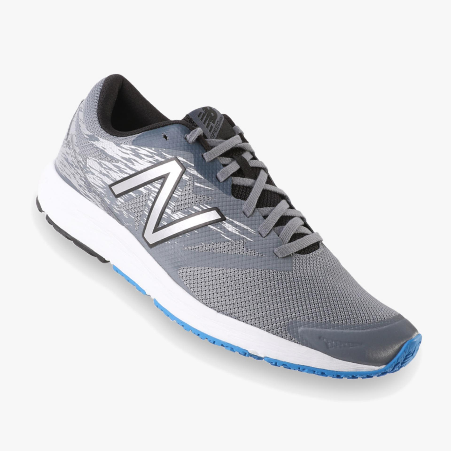 Dimana Beli New Balance Speed Ride Flash Men S Running Shoes Abu Abu New Balance