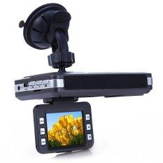 New Car DVR Radar Detector HD 2 inch LCD Russian English VoicewithLaser Logger night vision 5 million pixel CMOS sensor Camera