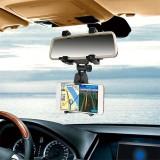 Diskon Produk Gaya Baru Mobil Kendaraan Mount Pemegang Ponsel Dukungan For Spion Kendaraan Multi Fungsional Dukungan Navigasi Hitam