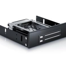 Baru CD-ROM Ruang Teluk Ganda 2.5 Inch Perangkat Keras Rak Mobile Mount SATA HDD Ekstensi Braket Lampiran Internal PC-Intl