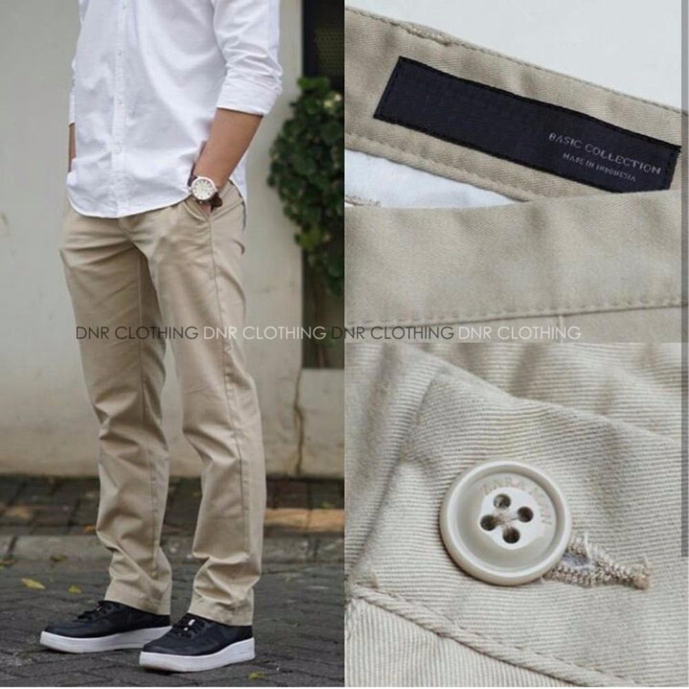 New Celana Chino Pria Ultimate Slimfit - Mocca