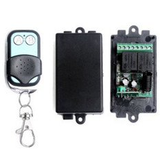Jual New Dc 12 V 2 Saklar Remote Mengendalikan Saluran Rancangan Rf Nirkabel Pemancar Receiver Branded Murah
