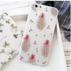 Fashion BARU untuk IPhone 6 6 S Plus Case Soft TPU Scrub Membuat Pola Coque-Intl