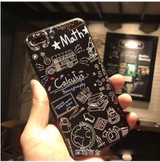 Fashion Baru untuk IPhone 6/6 S Plus Case Embossed Graffiti Soft TPU untuk IPhone 6 6 S PLUS Kasus Telepon-Intl