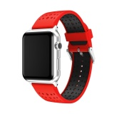 Jual Beli Baru Fashion Sports Silicone Gelang Tali Band To Apple Watch Series 2 1 42Mm Indonesia