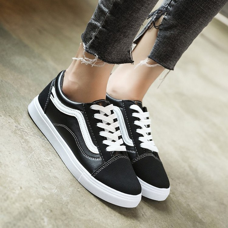 Harga New Female Monarch All Match Korean Wind Canvas Shoes Shoes Shoes Harajuku Intl Terbaik