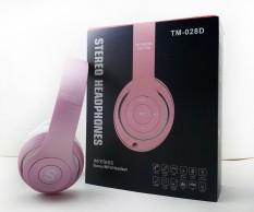 Headset Baru Bluetooth Headset TM-028 Warna Tidak Mengkilap Generasi Kedua Bluetooth Headset Kartu dengan Radio Stok (D) (Warna: merah Muda) (Ukuran: AS :)-Internasional