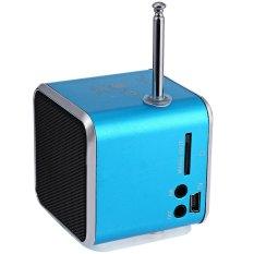 New Hot Portable Mini Rechargeable LED Musik Stereo Media Speaker Music Player TD-V26 FM Radio USB Micro SD untuk IPhone PC Laptop