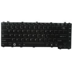 New Keyboard for Toshiba Satellite C600 L645 L645D L645D-S4029 L635 L640 L640D- Hitam ( Doff )