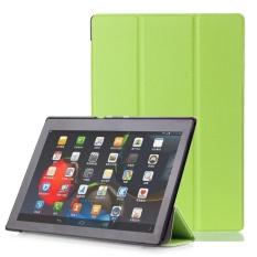 BARU Leather Case Smart Cover Protector untuk Lenovo Tab3 10 Bisnis (TB3-X70F/N/L) 10.1 Inch-Intl