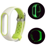 Harga Baru Ringan Ventilasi Luminous Tpe Lembut Strap Wristband Untuk Xiaomi Mi Band 2 Intl Oem Tiongkok