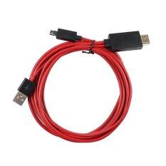 New MHL micro USB untuk 1080P HDMI AV HDTV tv kabel adaptor untuk HTC ONE Max