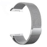 Jual New Milanese Stainless Steel Smart Gelang Jam Penggantian Tali Untuk Fitbit Ionic Intl Ori