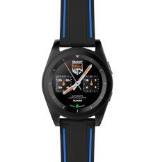 Harga Termurah Baru Asli No 1 G6 Smartwatch Mtk2502 Smartwatch Olahraga Bluetooth 4 Pelacak Panggilan Menjalankan Monitor Denyut Jantung For Android Ios Hitam Kulit Internasional