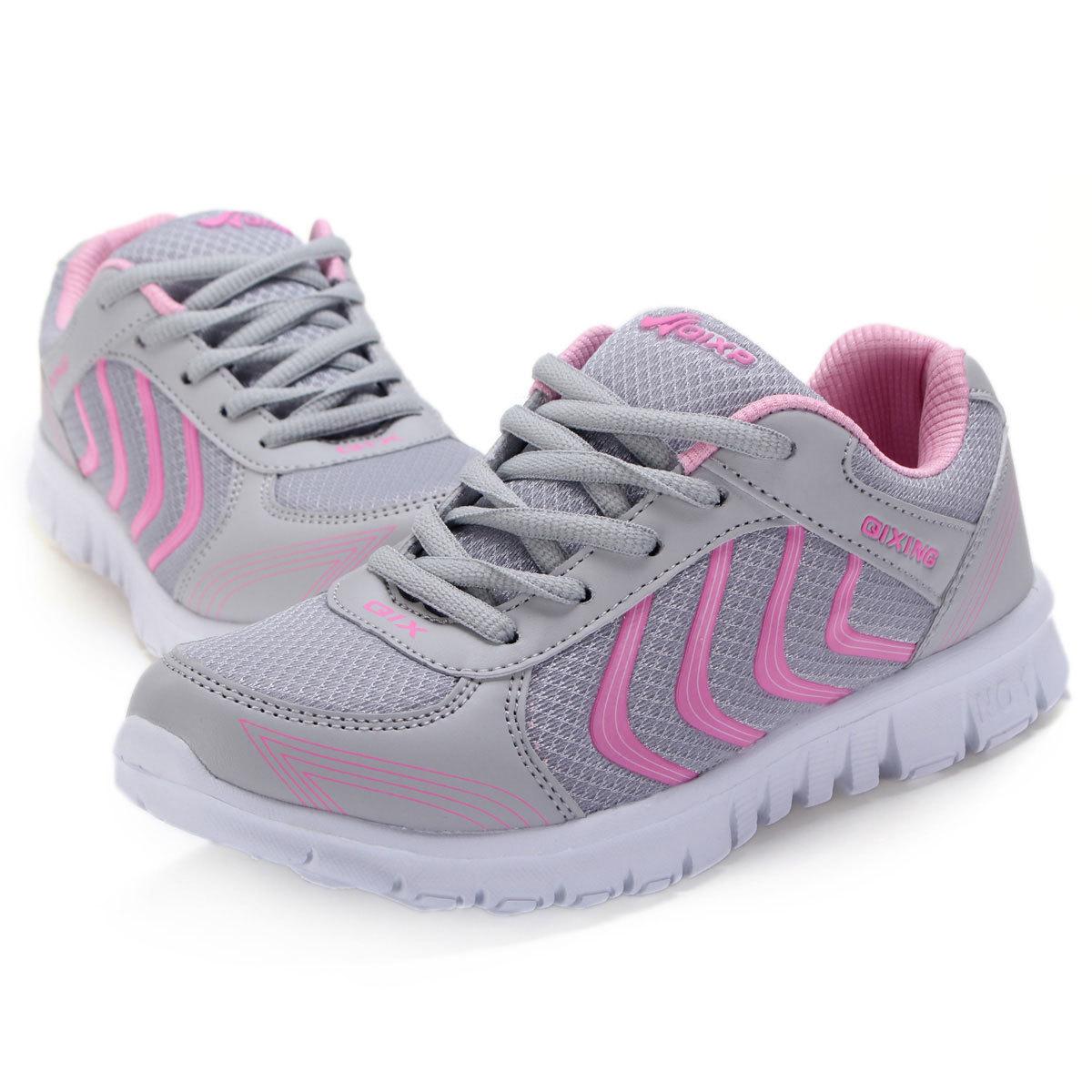 Toko New Perempuan Pelatih Lari Sepatu Olahraga Sepatu Fashion Untuk Menyerap Guncangan Online Tiongkok