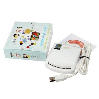 Produk Baru Untuk 2015 Usb Emv Smart Card Reader Writer Untuk Iso 7816 Emv Chip Tags Kartu Reader 2 Pc 4442 Uji Kartu 1 Cd Driver Intl Oem Murah Di Tiongkok