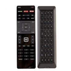 BARU QWERTY Dual Side Remote XRT500 dengan Lampu Latar Cocok untuk 2015 2016 VIZIO Smart APP Internet TV-Internasional