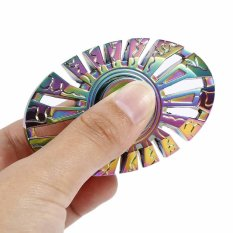 Harga New Rainbow Spinner Figet Spinner Hand Finger Mixed Desk Focus Colorful Toys Intl Yang Murah Dan Bagus
