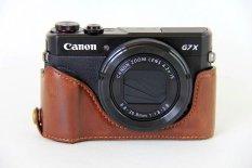 Baru Retro Vintage Video Camera Case untuk Canon PowerShot G7X II G7X Mark 2 G7X2 Kamera Digital High Quality PU Tas Kamera Kulit