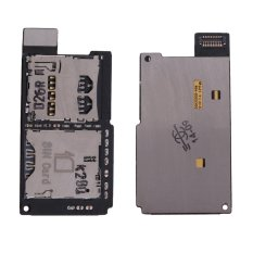 New Sim + Memory Reader Flex Card Slot Tray Holder for HTC One SV - intl