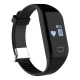 Spesifikasi Baru Smart Gelang H3 Gelang Bluetooth 4 Kebugaran Tracker Smartband Hitam