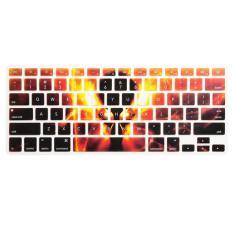 Keyboard Silikon Soft Cover Baru Melindungi Kulit untuk MacBook Pro 13 ''-15'' E-Intl