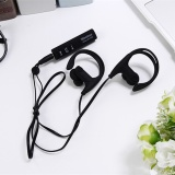 Jual Baru St 008 Bluetooth Headset Sport Bluetooth Earphone Untuk Ponsel Hitam Internasional Grosir