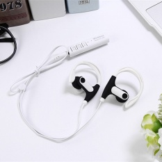 Baru St 008 Bluetooth Headset Sport Bluetooth Earphone Untuk Ponsel Putih Intl Di Tiongkok