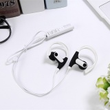Review Pada New St 008 Bluetooth Headset Sport Bluetooth Earphone For Mobile Phone White Intl