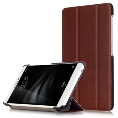 New Stand Folio Flip Smart Case Cover for 7'' Huawei MediaPad M2 7.0 PLE-703L BW - intl
