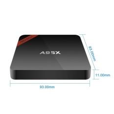 Gaya Baru A95X NEXBOX Amlogic S905X Quad Core Cortex A53 2.0 GHz 64bit Android 6.0 BT 4.0 TV Box RAM 1 GB ROM 8 GB HDMI 2.0 4 K * 2 K WIFI Streaming Media Player EURO-Intl