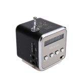 Ulasan Baru Td V26 Mini Digital Suara Stereo Musik Player Speaker Fm Radio Audio Player Intl