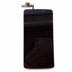 Baru Touch Digitizer Layar LCD Display Assembly untuk Alcatel Idol 3C (hitam) + 3 M Tape + Membuka Alat Perbaikan + Lem