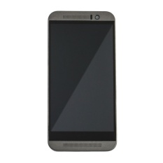 Baru Touch Digitizer Layar LCD Display Assembly untuk HTC One M9 (Hitam) + 3 M Tape + Membuka Alat Perbaikan + Lem