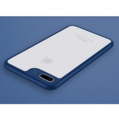 BARU Ultra Tipis Transparan Phone Case untuk IPhone 6 6 S Plus Case Border Protection Back Cover untuk IPhone 6 6 S Plus Covers Case-Intl