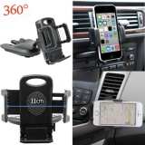 Pusat Jual Beli New Universal Car Cd Slot Mobile Phone Gps Sat Nav Stand Holder Mount Cradle Intl Tiongkok