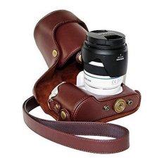 Penawaran Istimewa Baru Vintage Pu Tas Kamera Kulit Kasus Untuk Nx300 Nx 300 Nx 300 Camera Cover Dengan Tali Bahu Intl Terbaru