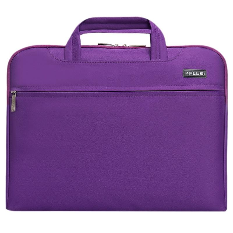 New waterproof arrival laptop bag case computer bag notebook cover bag 15 inch for Apple Lenovo Dell Computer bag(Purple) - intl