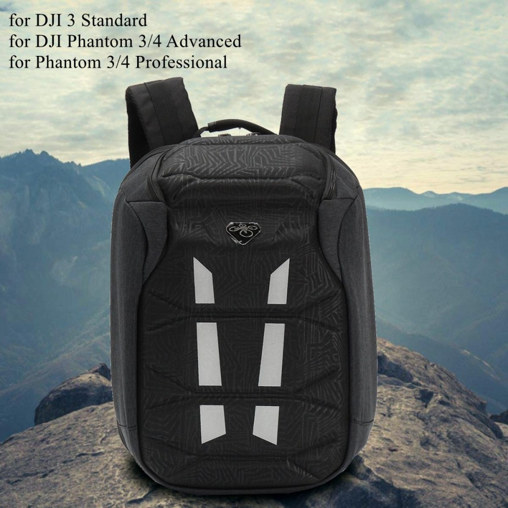 Harga New Waterproof Backpack Hardshell Shell Case Bag Box For Dji Phantom 4 3 Pro Adv Intl Di Tiongkok
