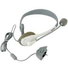 Baru Putih Slim Mikrofon Headset Headphone For Xbox360 Xbox 360 86 Di Tiongkok